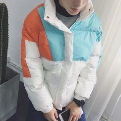 JUN.LEE - Color Block Padded Jacket
