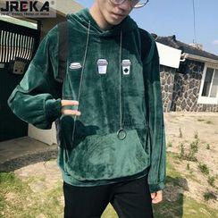 Jacka - Velvet Hooded Pullover