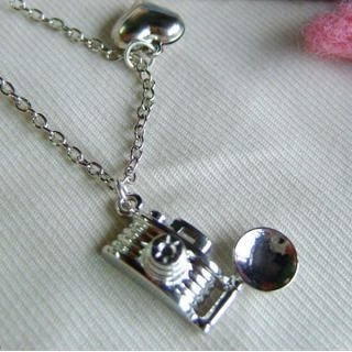 MyLittleThing - Forever Love Camera Necklace