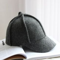 EVEN - Plain Woolen Baseball Cap