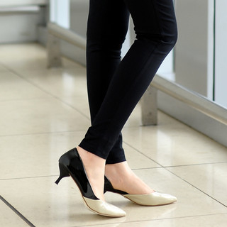 59 Seconds - Color-Block Patent Pumps