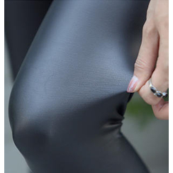 REDOPIN - Wet-Look Leggings