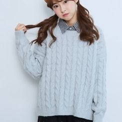 BAIMOMO - Cable Sweater