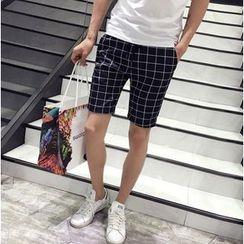 Fisen - Check / Plain Shorts