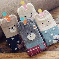 Gemini - Animal Print Socks Set