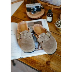 GOROKE - Fleece-Lined Mules