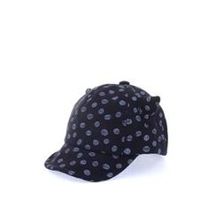 Ohkkage - Kids Cat-Eat Patterned Baseball Cap
