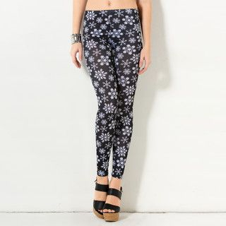 59 Seconds - Snowflake Print Leggings