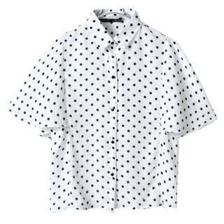 LULUS - Dotted Blouse