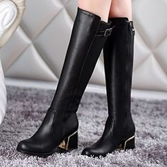 Sidewalk - Block Heel Tall Boots