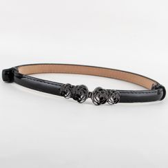 Goldenrod - Flower Slim Belt