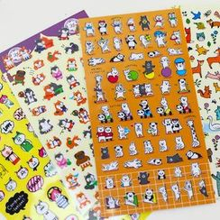 Homey House - Cartoon Stickers
