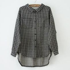 Jill & Jane - Long-Sleeve Check Shirt