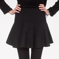 59 Seconds - High-Waist A-Line Skirt