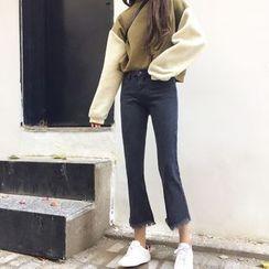 Jeans Kingdom - 散摆靴型牛仔裤