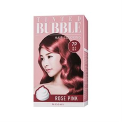 Missha 谜尚 - Tinted Bubble Hair Coloring (#7P Rose Pink)