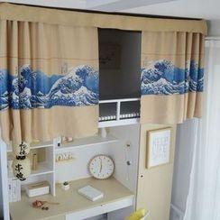 MOD HUT - Printed Valance Curtain