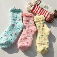 MEIA - Fleece Socks