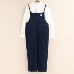 11.STREET - Denim Dungaree