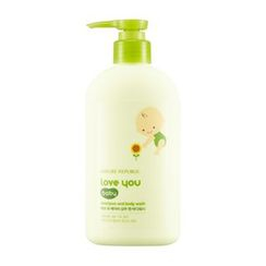 Nature Republic - Love You Baby Shampoo & Body Wash 310ml