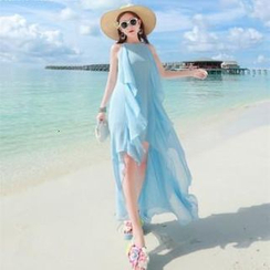 Lovi - High-Low Chiffon Sundress