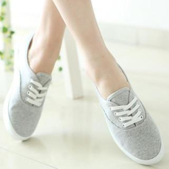 Renben - Plain Canvas Sneakers