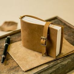 Paper House - Leather Cover Notebook (S)