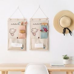 Home Simply - Cartoon Linen Hanging Pocket
