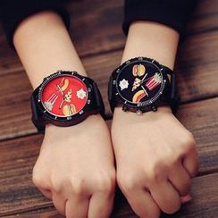 InShop Watches - Printed Jelly Strap Watch