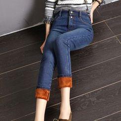 Sienne - Fleece Lined Slim Fit Jeans