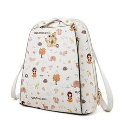 Princess Carousel - Print Convertible Backpack