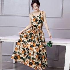 Romantica - Sleeveless Printed Dress