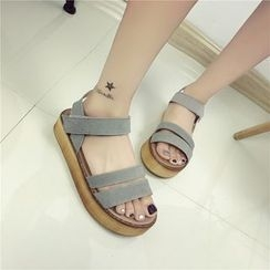 Wello - Platform Strapped Sandals