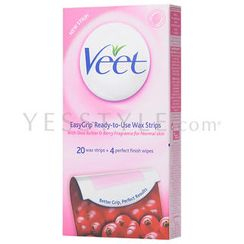 Veet - EasyGrip Ready-to-Use Wax Strips (for Normal skin)