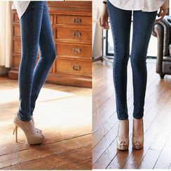 Nassyi - 窄身牛仔裤