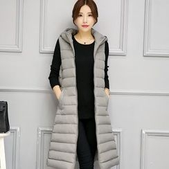 Neeya - Sleeveless Hooded Down Coat