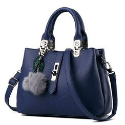 miim - Pompom Shoulder Bag