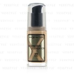 Max Factor - Second Skin Foundation - #075 Golden