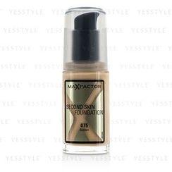 Max Factor - Second Skin Foundation - #075 Golden