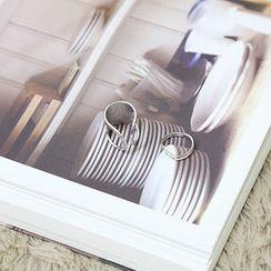 NANING9 - Set of 2: Metal Rings