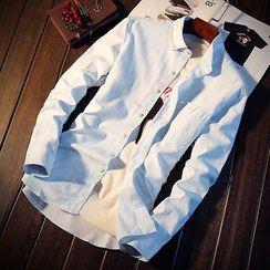 DTT - Plain Long-Sleeve Shirt
