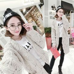 TIMI - Cable Knit Cardigan