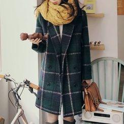 謳若緹 - 長款羊毛大衣