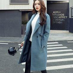 Marlene - Woolen Long Coat