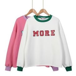 Momewear - Lettering Pullover