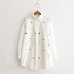 Tangi - Embroidered Long Shirt