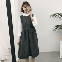 Eva Fashion - Pinafore Dress