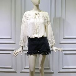 JOYIST - Embroidered Top / Shorts / Jeans