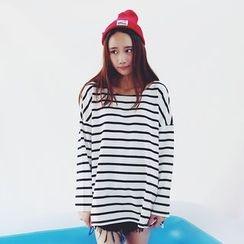 Shimi - Striped Long Sleeve T-Shirt