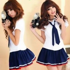 Sunny Doll - School Uniform Party Costume